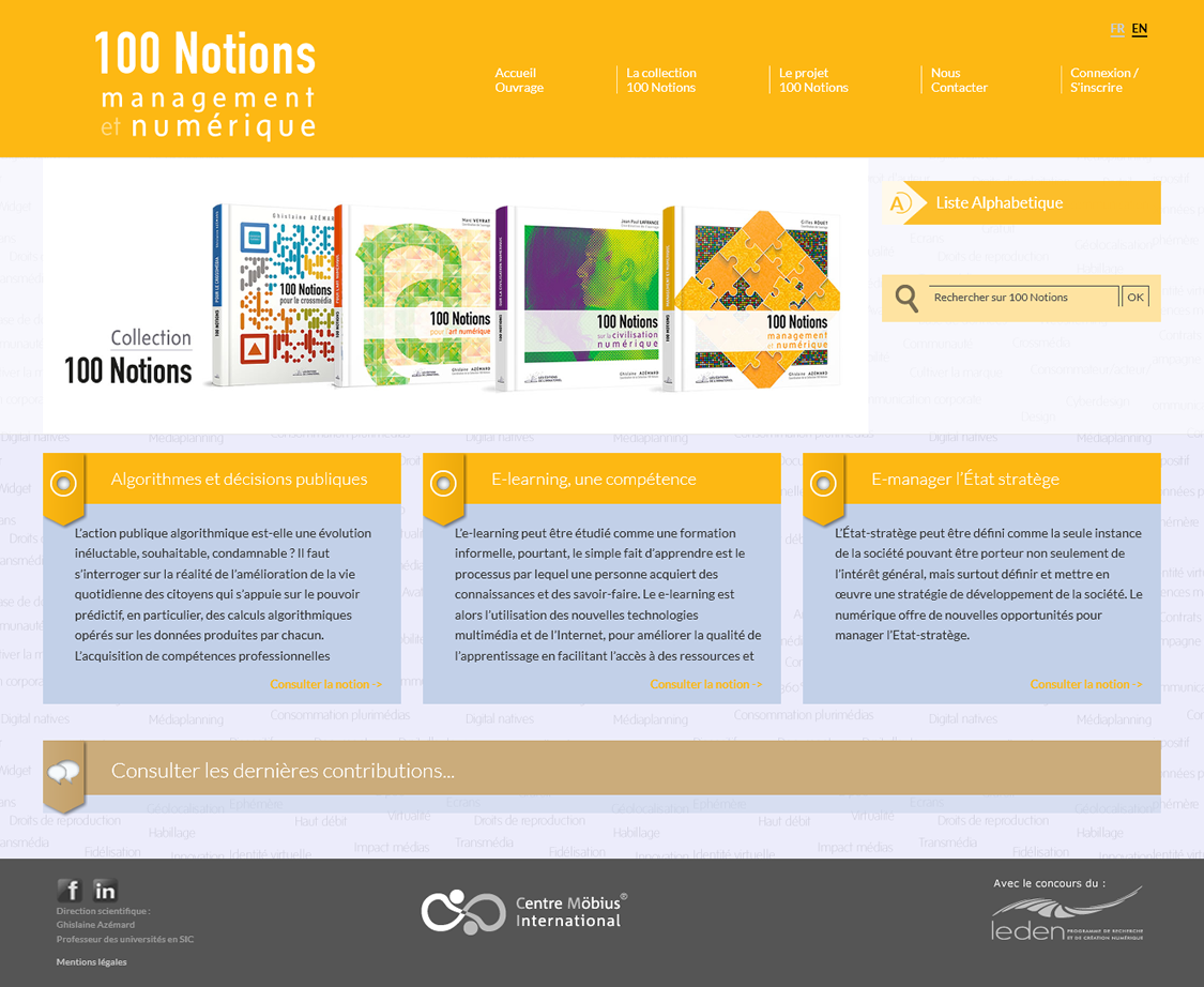 100 notions Art Numerique