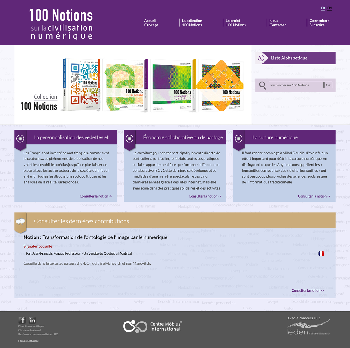 100 notions Civilization Numerique
